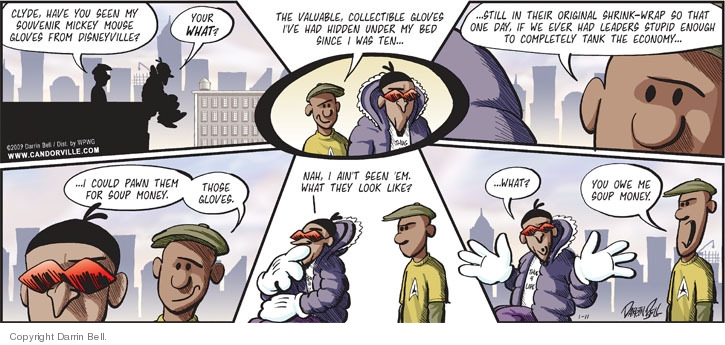 Comic Strip Darrin Bell  Candorville 2009-01-11 brown