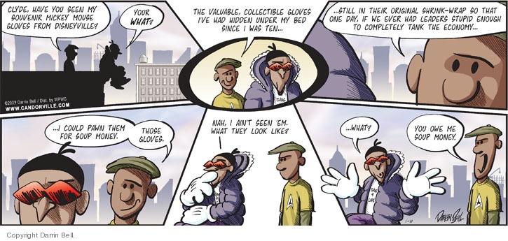 Comic Strip Darrin Bell  Candorville 2009-01-11 park