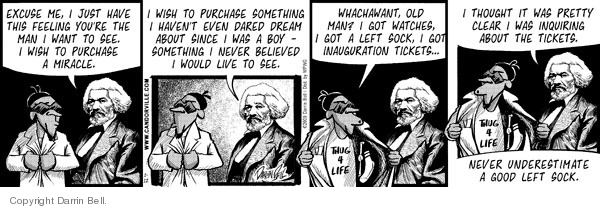Comic Strip Darrin Bell  Candorville 2009-01-12 buyer