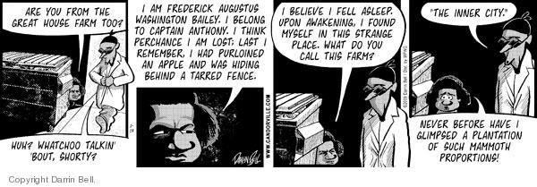 Comic Strip Darrin Bell  Candorville 2009-01-13 apple