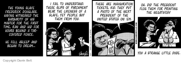 Comic Strip Darrin Bell  Candorville 2009-01-14 negative