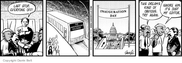 Comic Strip Darrin Bell  Candorville 2009-01-20 historic