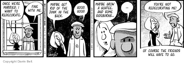 Comic Strip Darrin Bell  Candorville 2009-01-28 brown