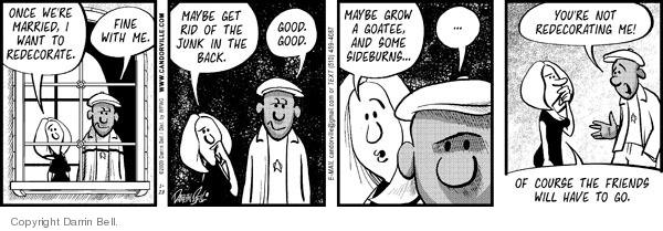 Comic Strip Darrin Bell  Candorville 2009-01-28 facial