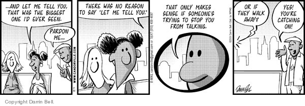 Comic Strip Darrin Bell  Candorville 2009-01-31 brown