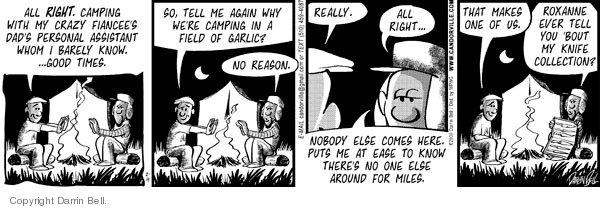 Comic Strip Darrin Bell  Candorville 2009-02-09 isolation