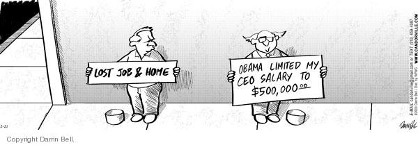 Cartoonist Darrin Bell  Candorville 2009-02-21 crisis