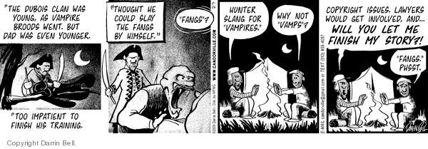 Comic Strip Darrin Bell  Candorville 2009-02-26 family history