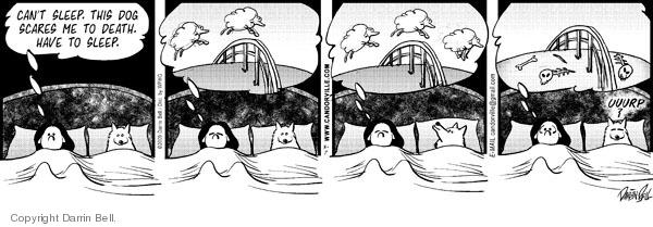 Comic Strip Darrin Bell  Candorville 2009-03-07 bone