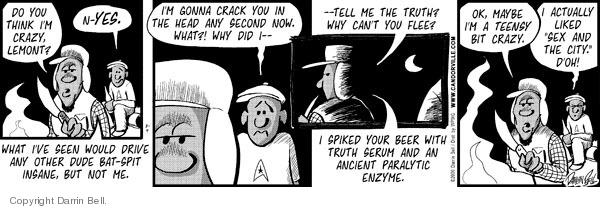 Comic Strip Darrin Bell  Candorville 2009-03-09 honesty