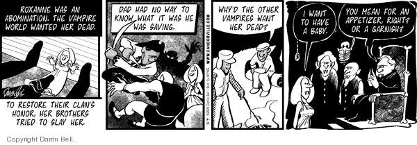 Comic Strip Darrin Bell  Candorville 2009-03-10 world
