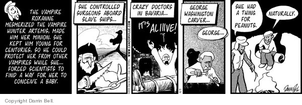 Comic Strip Darrin Bell  Candorville 2009-03-12 birth control