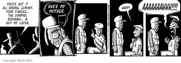 Comic Strip Darrin Bell  Candorville 2009-03-20 mother