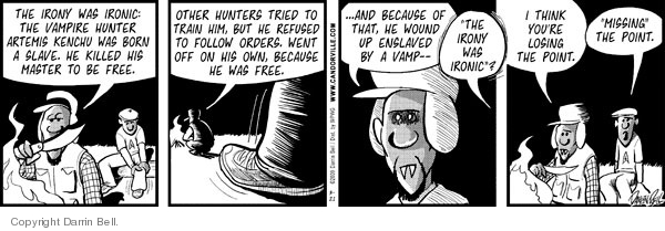 Comic Strip Darrin Bell  Candorville 2009-03-21 order