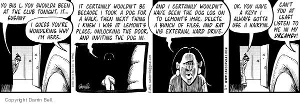 Comic Strip Darrin Bell  Candorville 2009-03-28 club