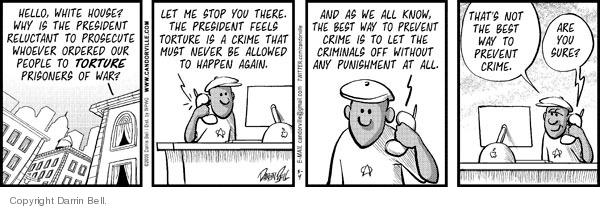 Comic Strip Darrin Bell  Candorville 2009-05-04 call