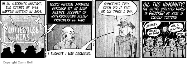 Comic Strip Darrin Bell  Candorville 2009-05-05 alternate universe