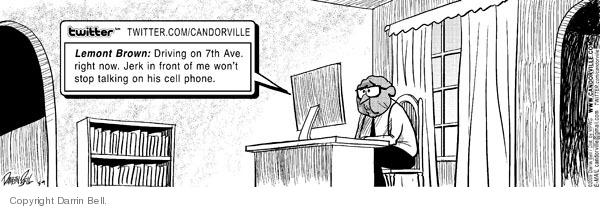 Comic Strip Darrin Bell  Candorville 2009-05-09 cell phone