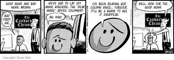 Comic Strip Darrin Bell  Candorville 2009-05-26 good advice