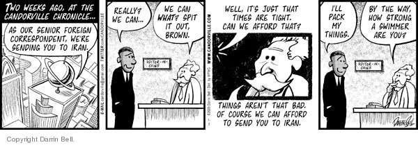 Comic Strip Darrin Bell  Candorville 2009-07-02 expense