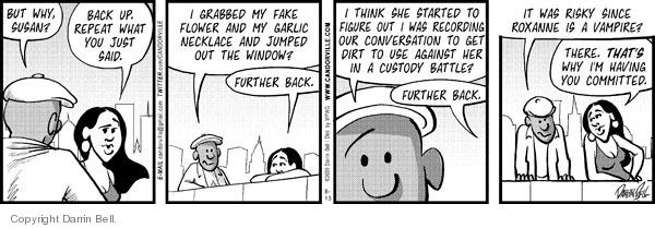 Comic Strip Darrin Bell  Candorville 2009-08-13 statement