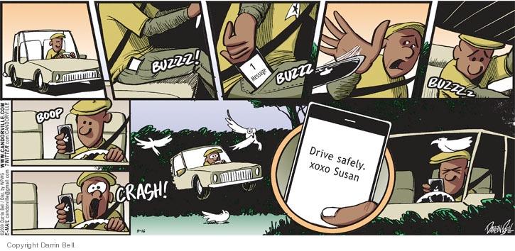 Comic Strip Darrin Bell  Candorville 2009-08-16 driver
