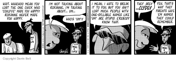 Comic Strip Darrin Bell  Candorville 2009-09-02 syllable