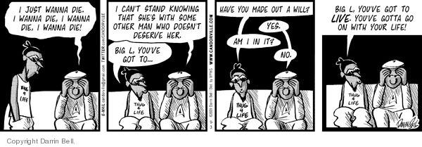 Comic Strip Darrin Bell  Candorville 2009-09-03 inheritance