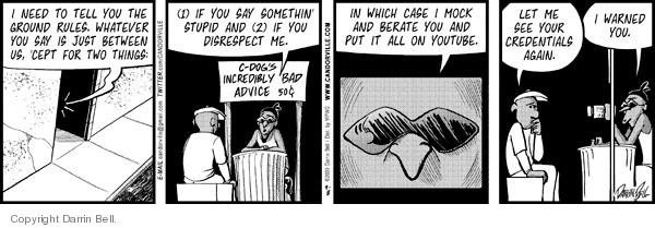 Comic Strip Darrin Bell  Candorville 2009-09-08 aid