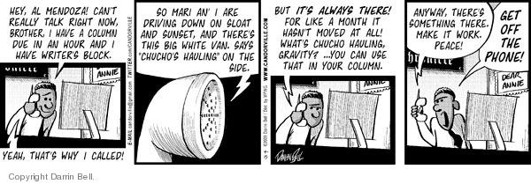 Comic Strip Darrin Bell  Candorville 2009-09-15 something