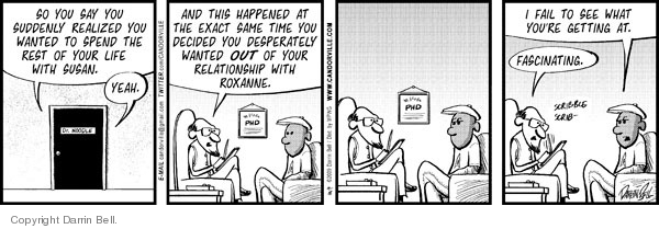 Cartoonist Darrin Bell  Candorville 2009-09-18 exact