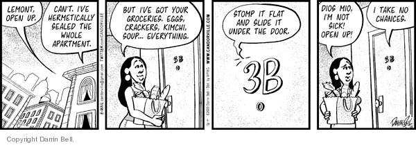 Comic Strip Darrin Bell  Candorville 2009-09-28 hide