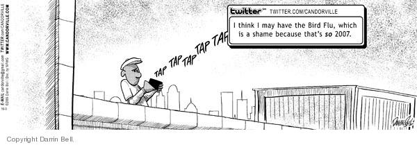 Comic Strip Darrin Bell  Candorville 2009-10-03 bird