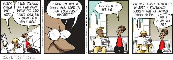 Comic Strip Darrin Bell  Candorville 2012-03-05 call