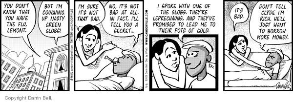 Comic Strip Darrin Bell  Candorville 2009-10-14 fact