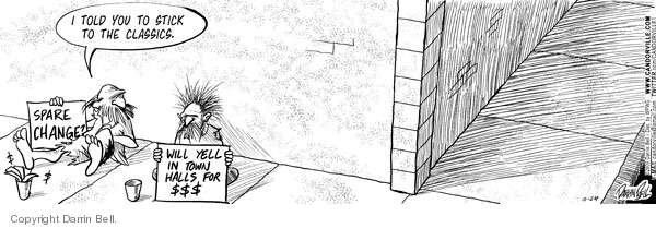 Comic Strip Darrin Bell  Candorville 2009-10-24 stick