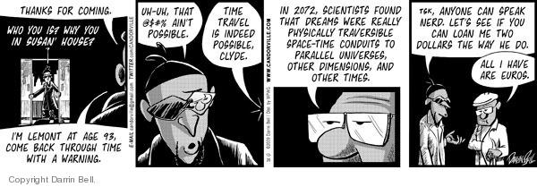 Comic Strip Darrin Bell  Candorville 2009-10-26 parallel