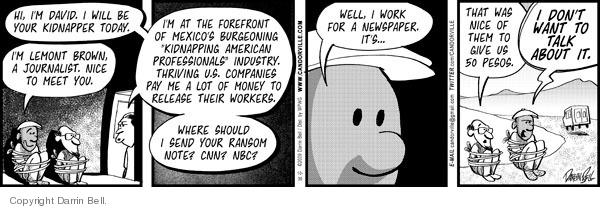 Comic Strip Darrin Bell  Candorville 2009-10-30 network