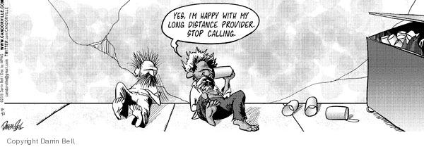 Comic Strip Darrin Bell  Candorville 2009-11-21 call