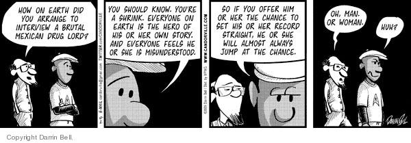 Comic Strip Darrin Bell  Candorville 2009-12-02 psychologist