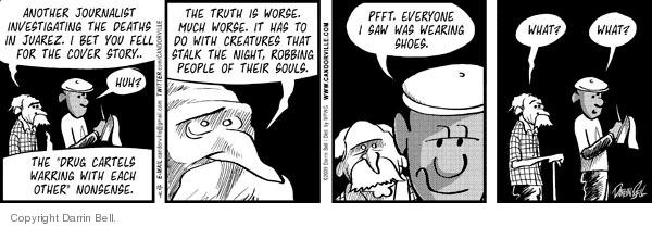 Comic Strip Darrin Bell  Candorville 2009-12-04 investigate