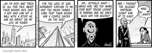 Comic Strip Darrin Bell  Candorville 2009-12-18 ball