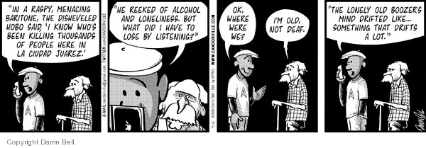 Comic Strip Darrin Bell  Candorville 2009-12-21 loneliness