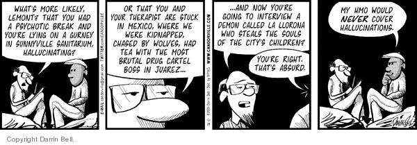 Comic Strip Darrin Bell  Candorville 2009-12-28 call