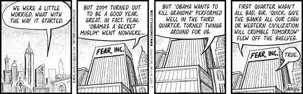 Comic Strip Darrin Bell  Candorville 2010-01-04 review