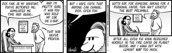 Comic Strip Darrin Bell  Candorville 2010-01-09 faith