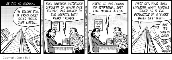 Comic Strip Darrin Bell  Candorville 2010-01-11 advertising campaign