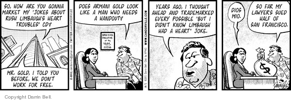 Comic Strip Darrin Bell  Candorville 2010-01-12 property