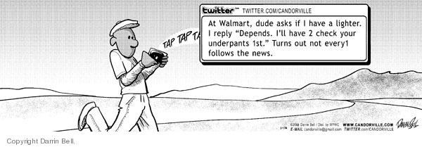Comic Strip Darrin Bell  Candorville 2010-01-16 internet