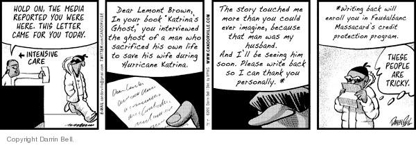 Comic Strip Darrin Bell  Candorville 2010-01-21 print